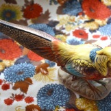 Pheasant on Fabric