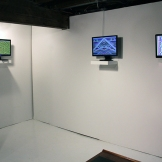 Installation Shot of Eric Scrivner's Cyclical Ritual Series