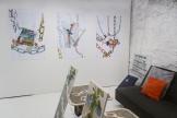 Apple Chain triptych installation